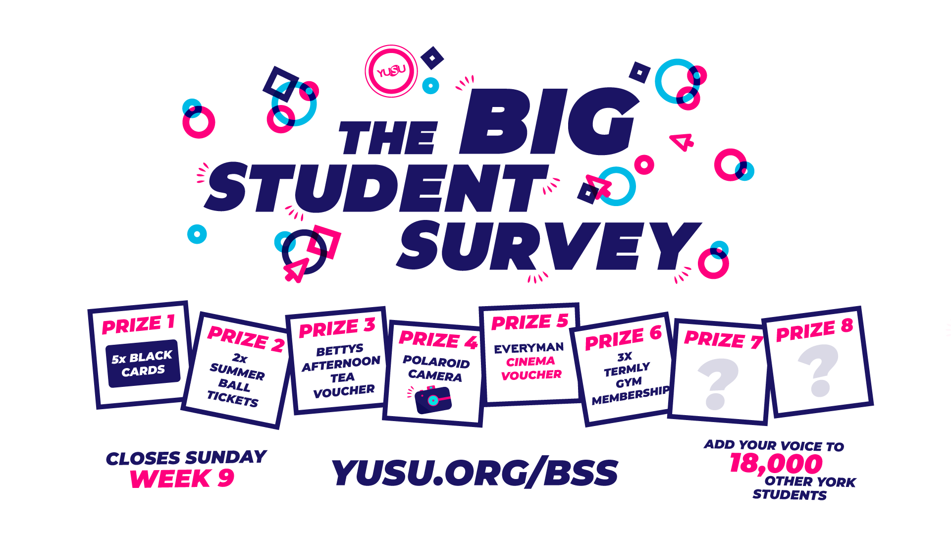 The Big Student Survey is live!