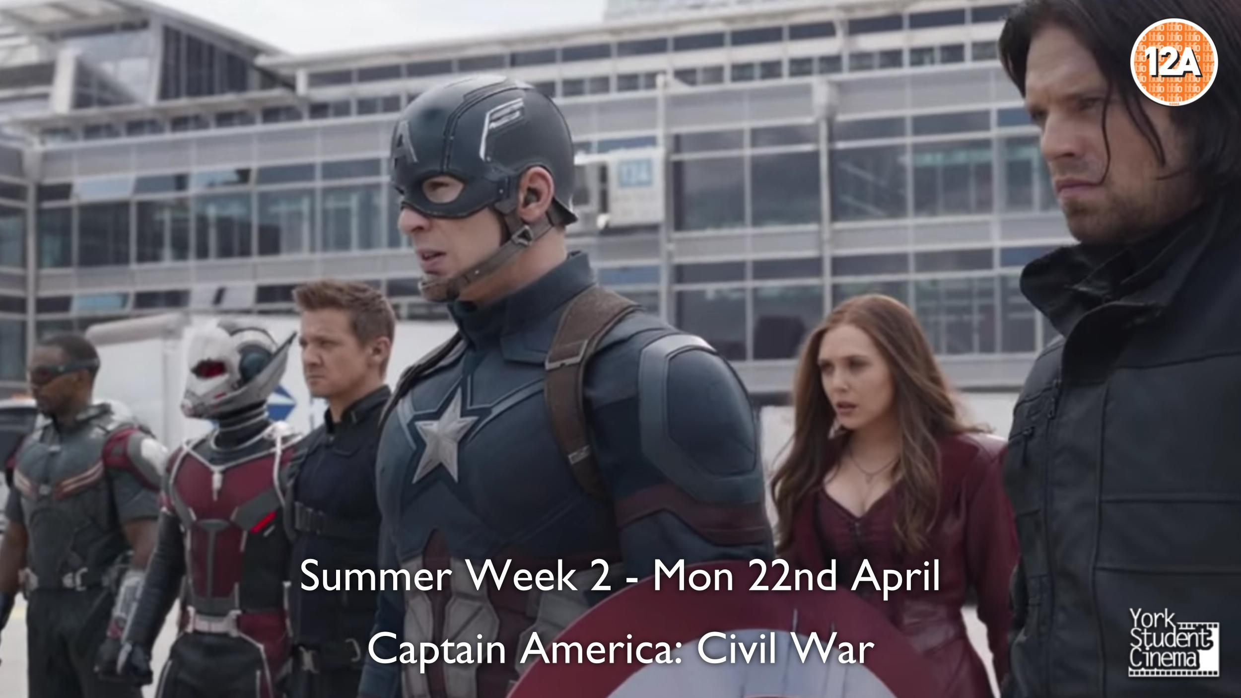 YSC Screening of Captain America: Civil War