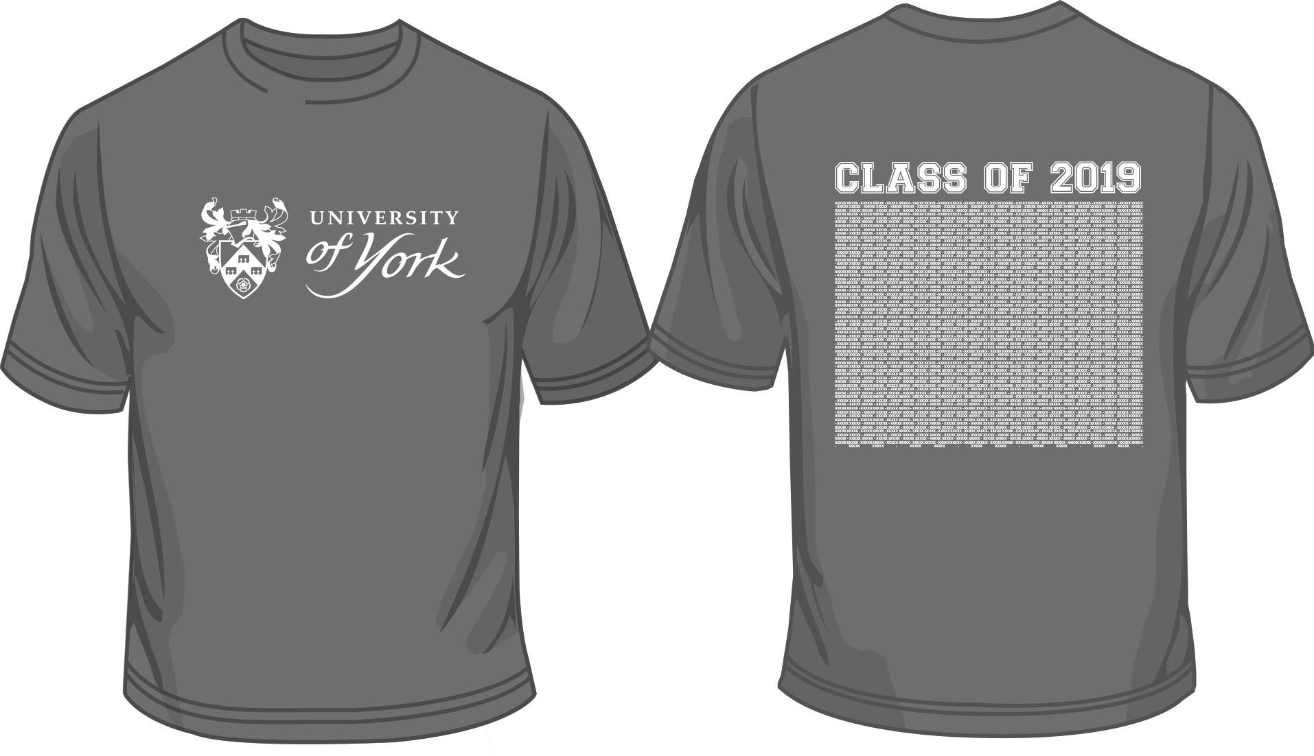 Graduation T-Shirt Saturday 20th July (Dark Grey)