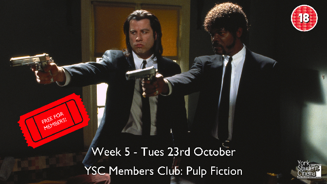 YSC Members Club Screening: Pulp Fiction