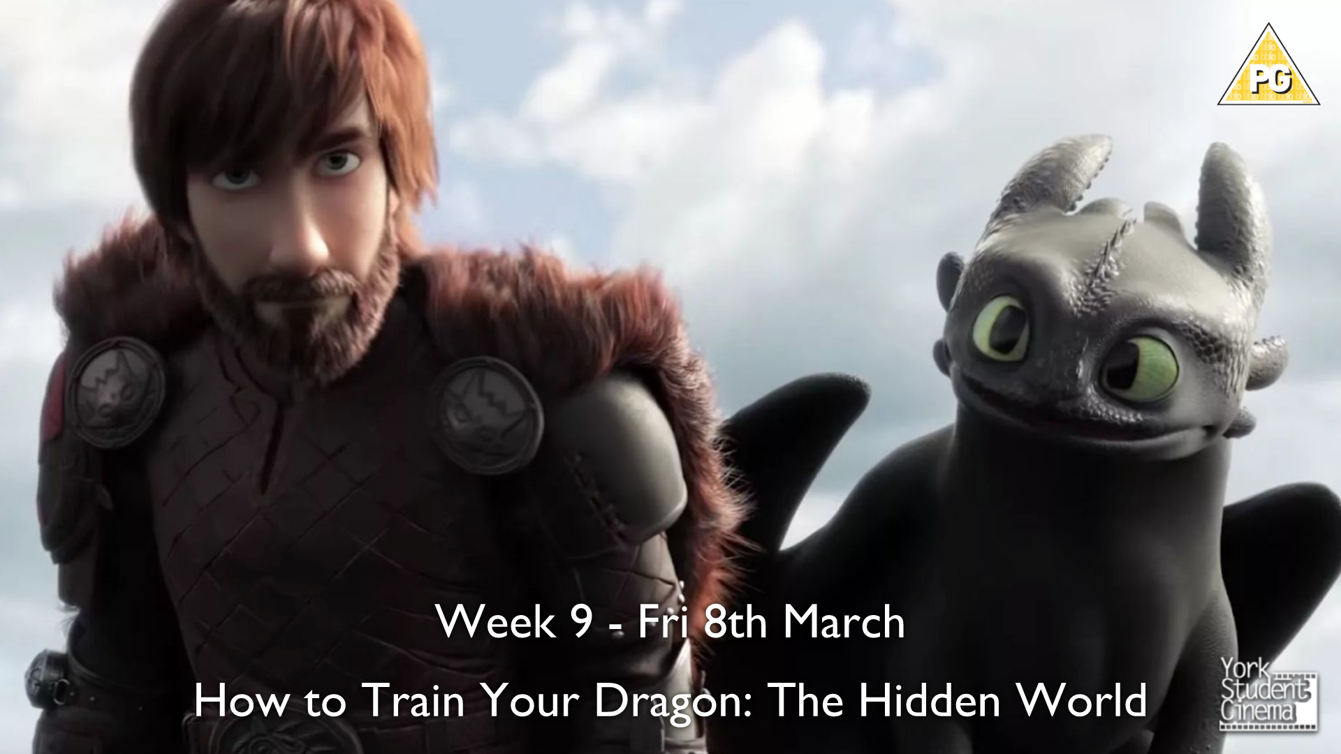 YSC Screening of How To Train Your Dragon 3: The Hidden World