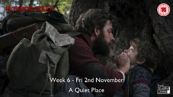 YSC Horror Week - Screening of A Quiet Place