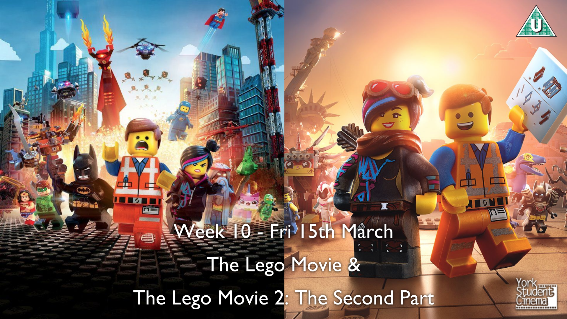YSC Screening of The LEGO Movie and The LEGO Movie 2: The Second Part