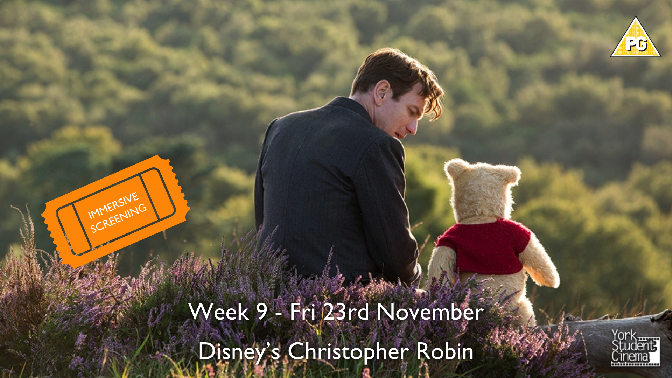 YSC Immersive Screening of Christopher Robin