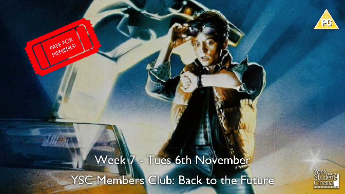 YSC Members Club Screening: Back to the Future
