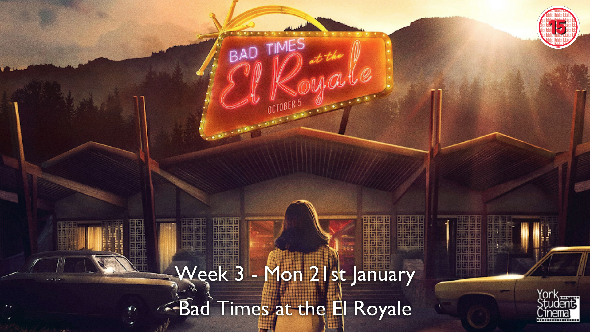 YSC Screening of Bad Times at the El Royale