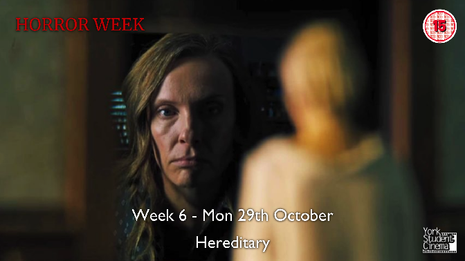 YSC Horror Week - Screening of Hereditary