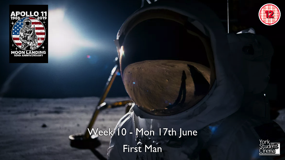 YSC Screening of First Man (Cancelled)