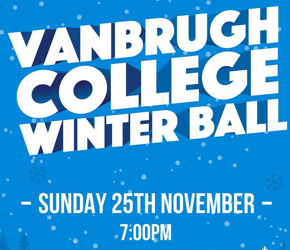 Vanbrugh Winter Ball