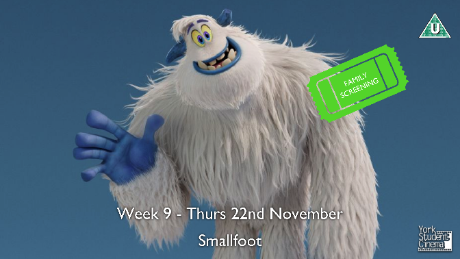 YSC Family Screening of Smallfoot