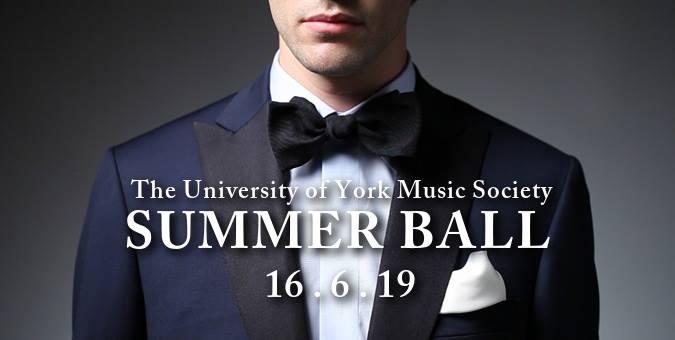 The University of York Music Society Summer Ball