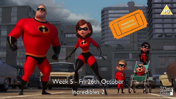 YSC Immersive Screening of Incredibles 2