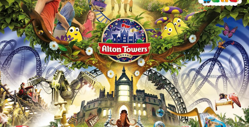James College goes to... Alton Towers
