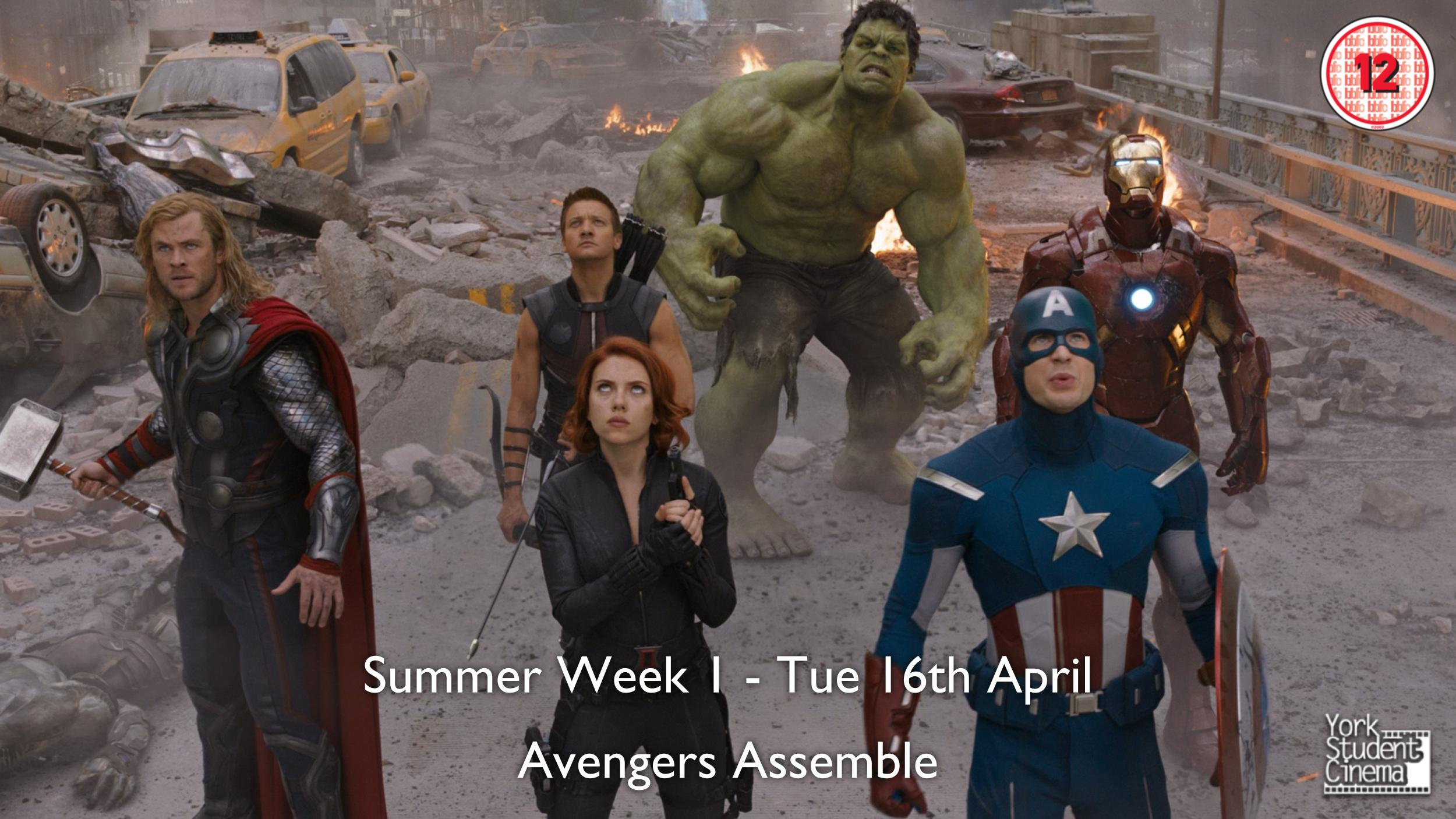 YSC Screening of Avengers Assemble