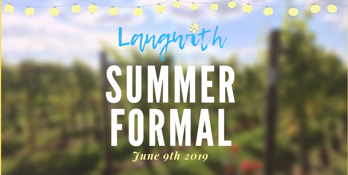 Langwith College Summer Formal
