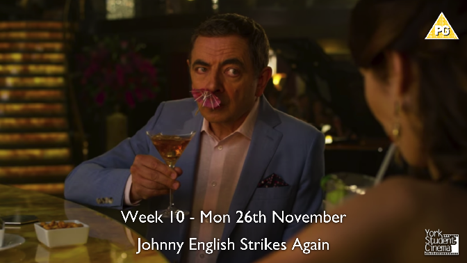 YSC Screening of Johnny English Strikes Again