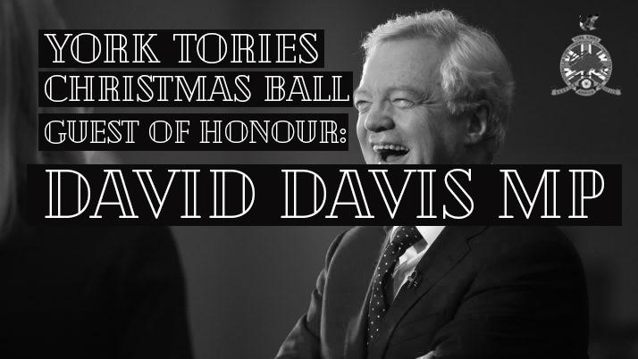 York Tories Christmas Ball 2018 with David Davis MP