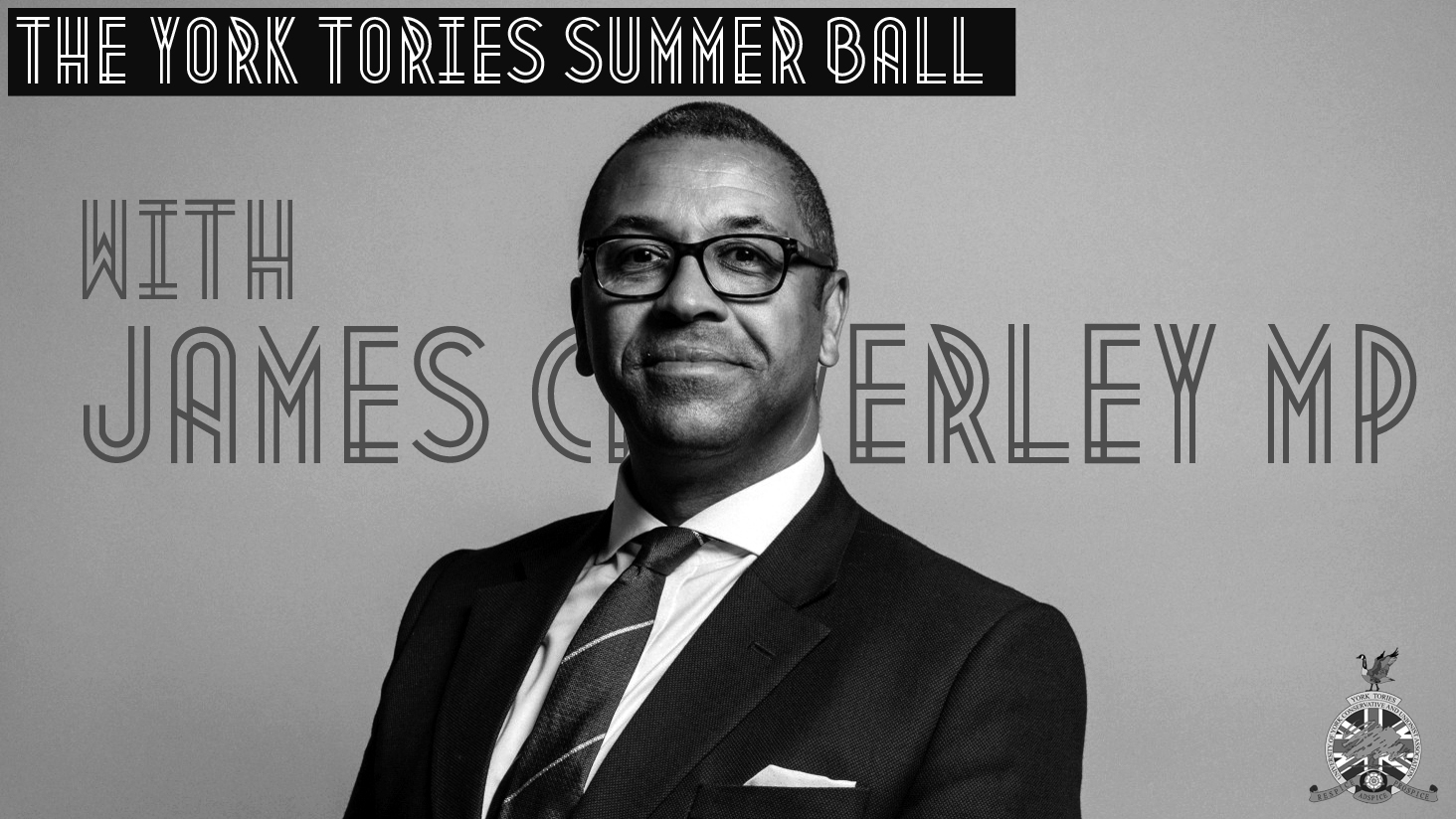 York Tories Summer Ball 2019 with James Cleverly MP