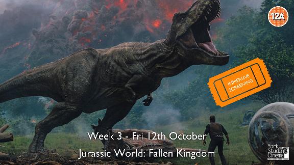 YSC Immersive Screening of Jurassic World: Fallen Kingdom