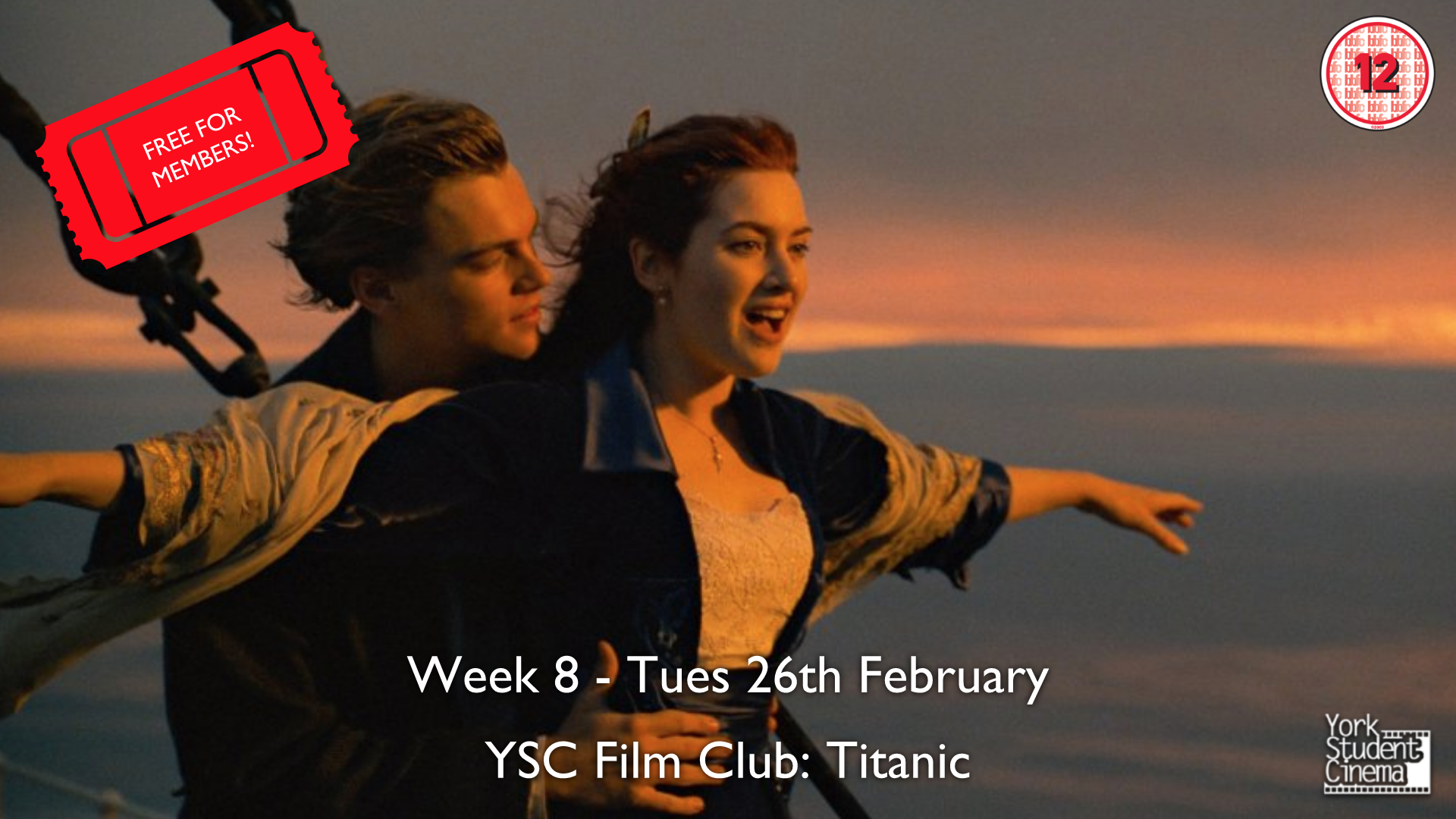 YSC Film Club: Titanic