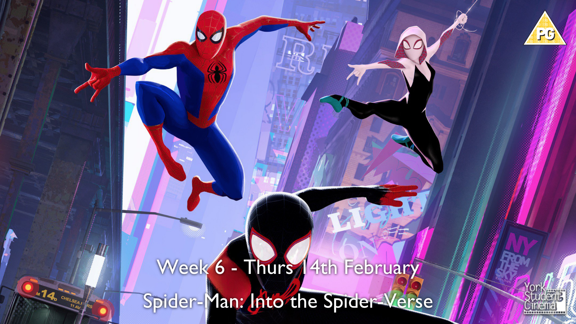 YSC Screening of Spider-Man: Into The Spider-Verse