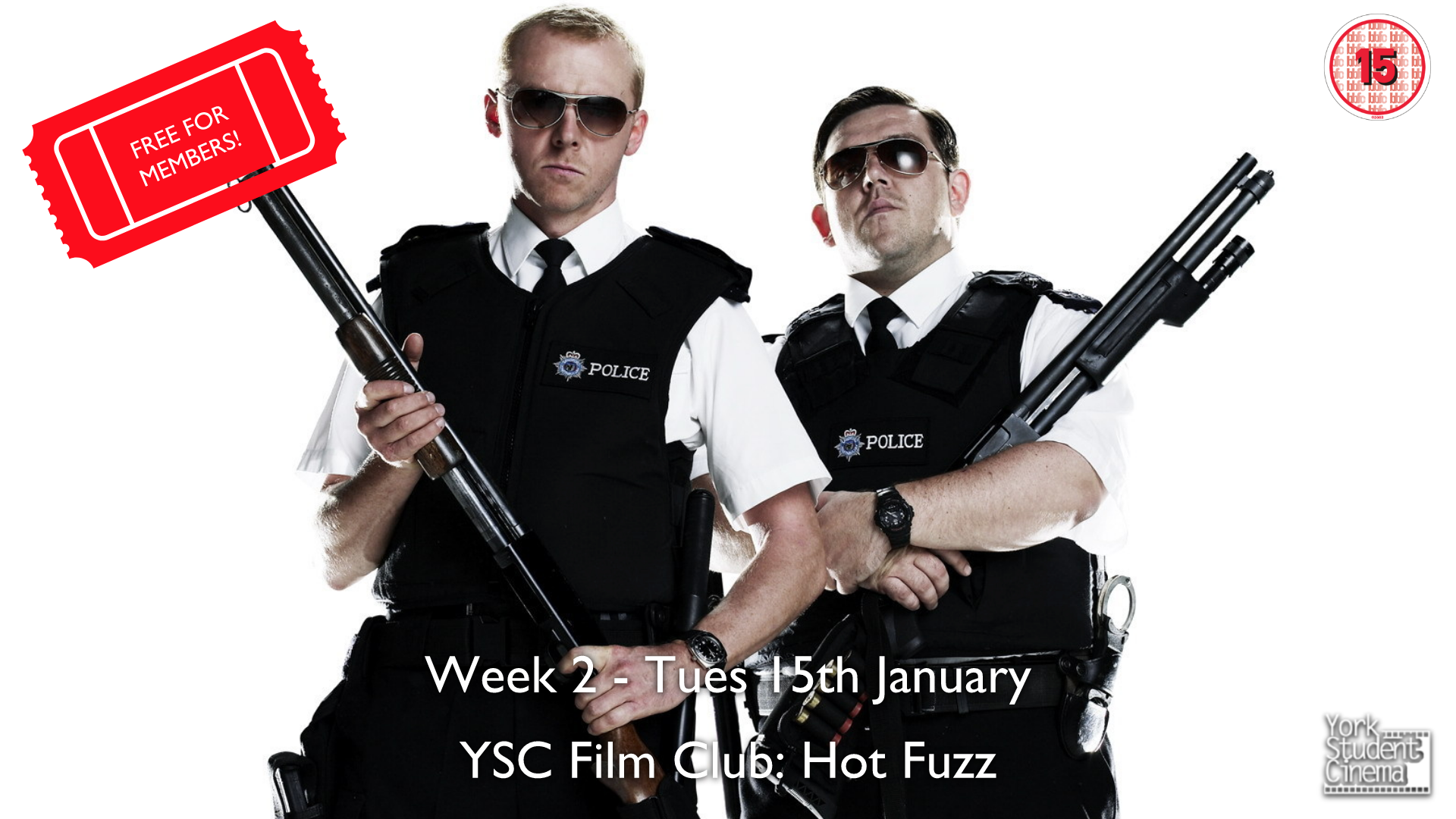 YSC Film Club: Hot Fuzz