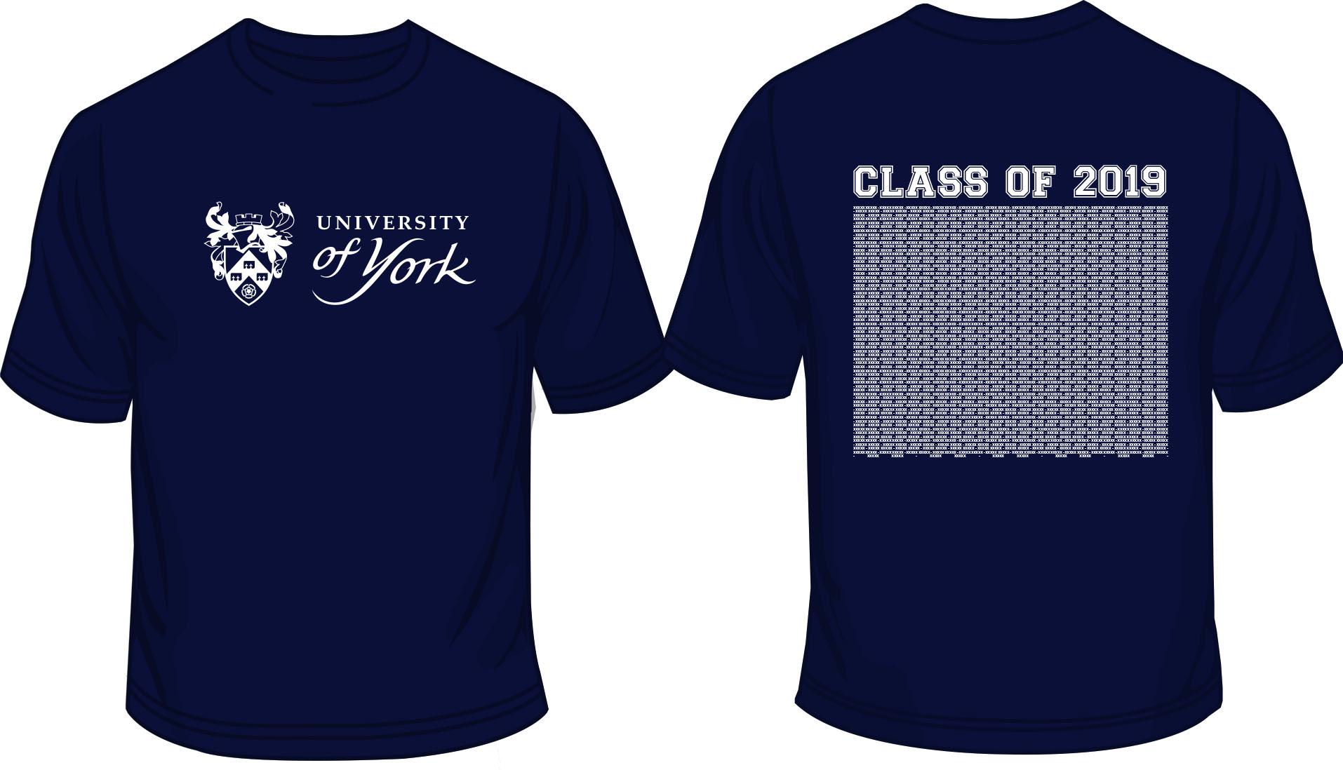 Graduation T-Shirt Friday 19th (Navy)