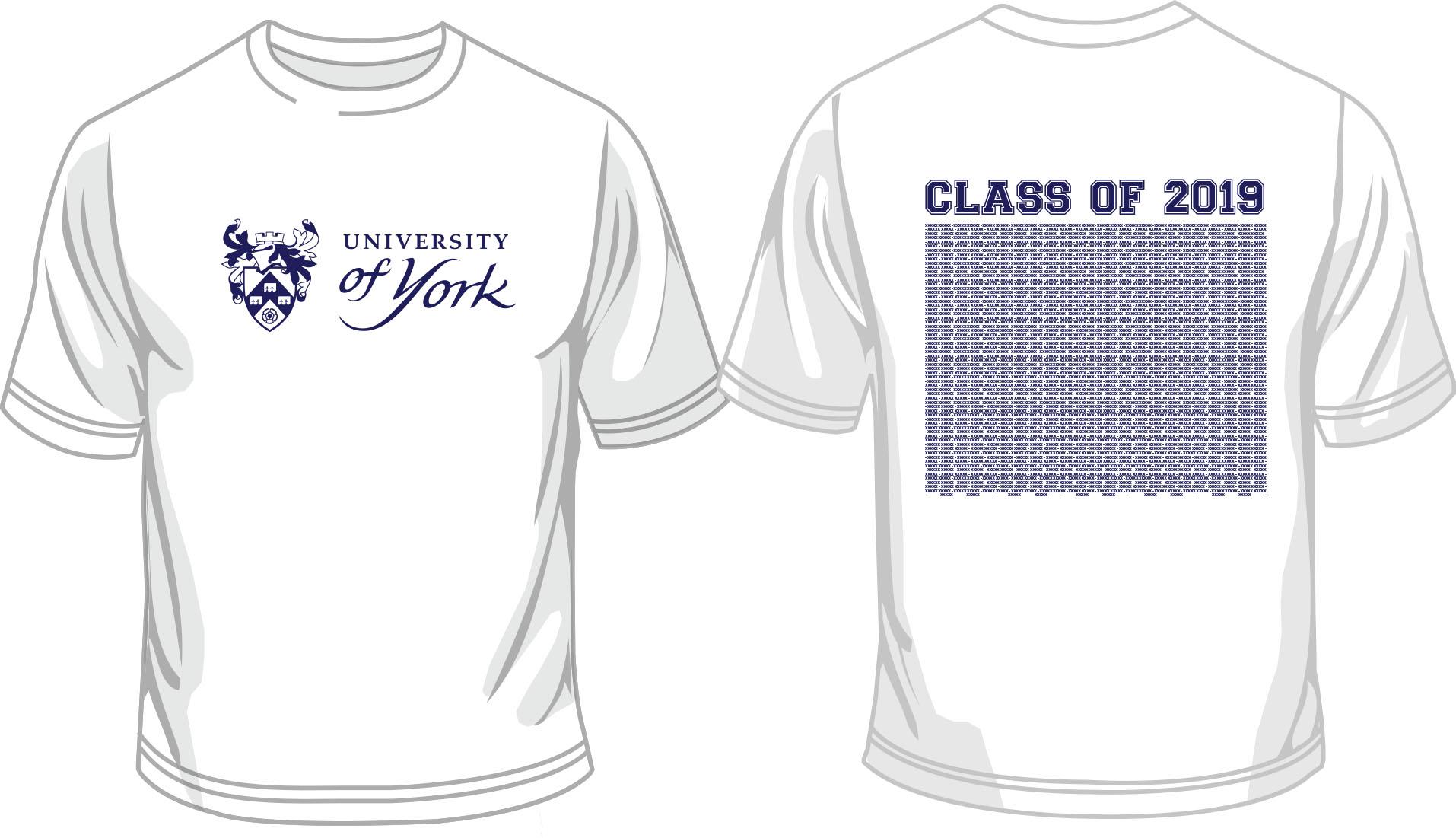 Graduation T-Shirt Wednesday 17th (White)
