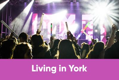Living in York