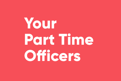 Your Part Time Officers