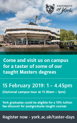 Masters taster days #ad